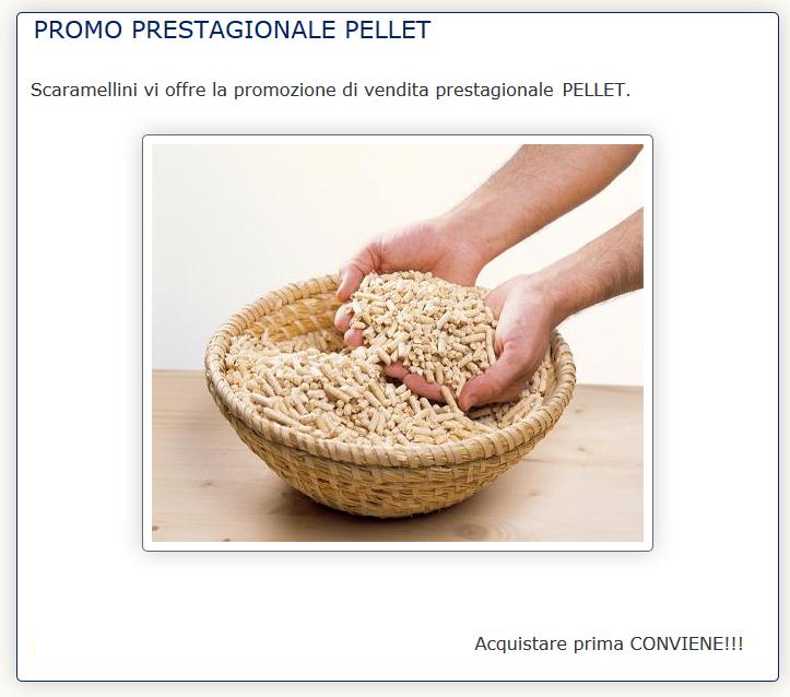 vendita pellet in Valchiavenna